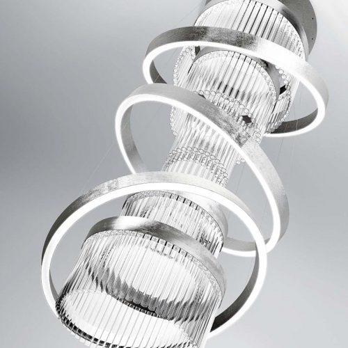 Marchetti-illuminazione-Ice-suspension-silver-leaf