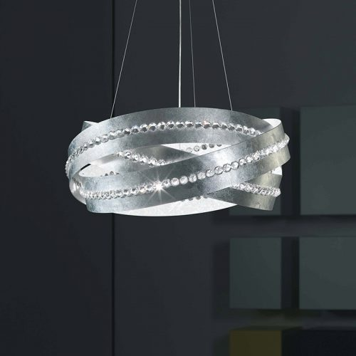 Marchetti-illuminazione-suspension-essentia-silver-leaf