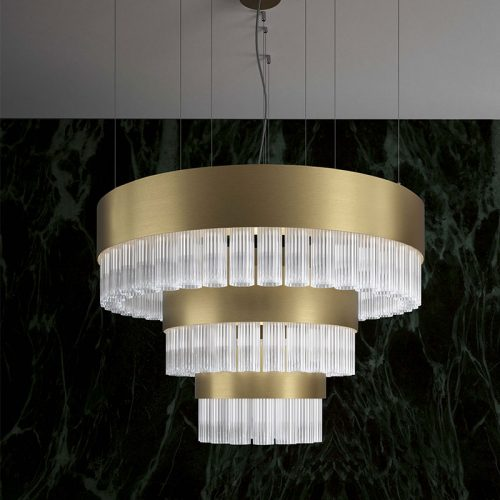 marchetti-illuminazione-ice-gm-satin-brushed-gold-ribbed-glass