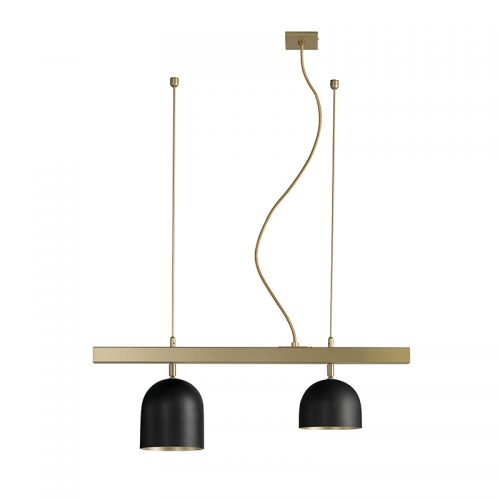 Marchetti-illuminazione-dome-suspension-black-gold