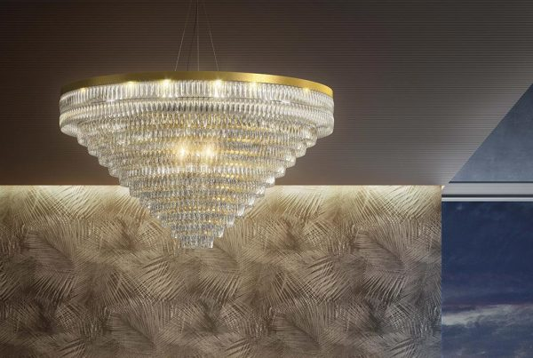 Marchetti Illuminazione suspension lamp Niagara composition main